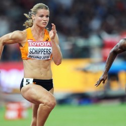 Dafne Schippers on life in the fast lane