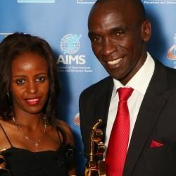 Mare Dibaba and Eliud Kipchoge win AIMS best marathon runner awards