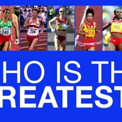 Who is the greatest ever female distance runner?