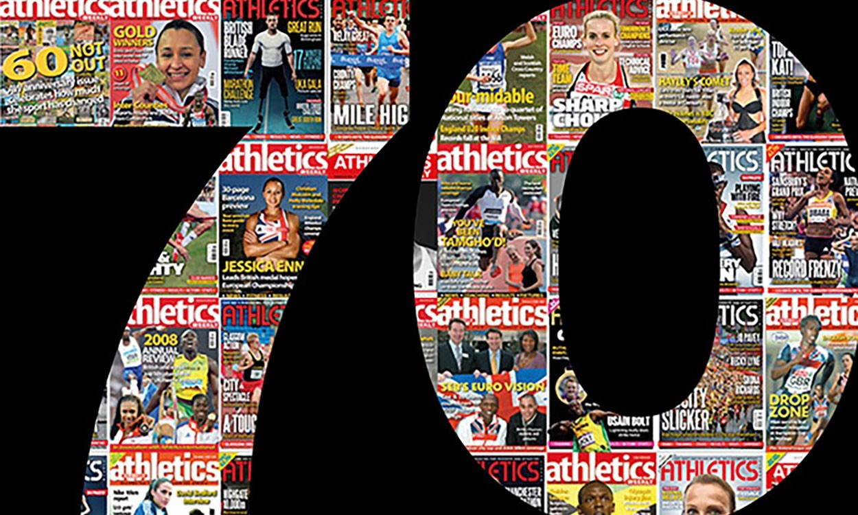 Celebrating 70 years of Athletics Weekly
