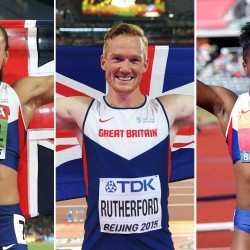 Ennis-Hill, Rutherford and Asher-Smith claim SJA awards