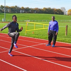 Herculean times from young sprinter Jaleel Roper