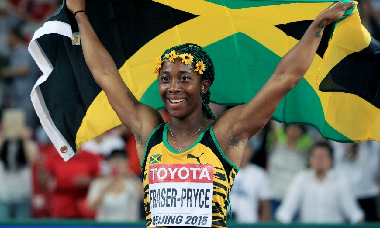 Athletics Weekly Shelly Ann Fraser Pryce S Journey To