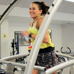 Susie Chan breaks 12-hour treadmill world record