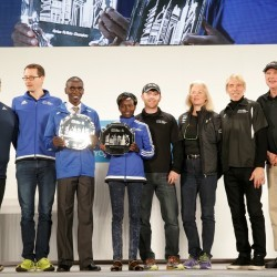Eliud Kipchoge and Mary Keitany win World Marathon Majors series