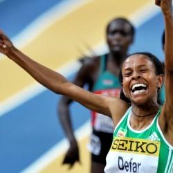 Meseret Defar runs 8:30.83 3000m on track return – global update