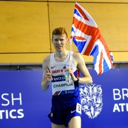 Tom Bosworth smashes UK 3000m walks record at Indoor British Champs