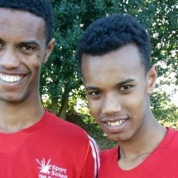 Sibling success for Mahamed and Zakariya Mahamed