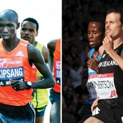Wilson Kipsang and Zane Robertson to race Great Manchester Run