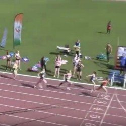 Irish runner Phil Healy in superb 4x400m relay sprint