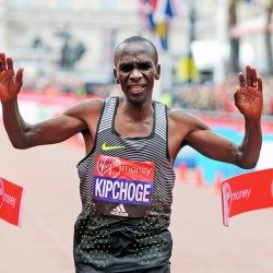 Eliud Kipchoge targets London Marathon hat-trick