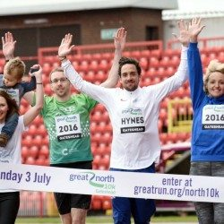 Great North 10k launched in Gateshead