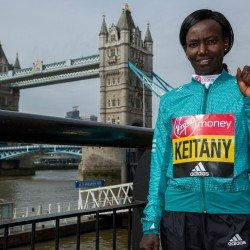 Mary Keitany ready to reclaim London Marathon title