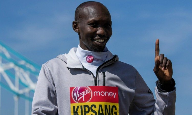 Wilson Kipsang targets London Marathon course record