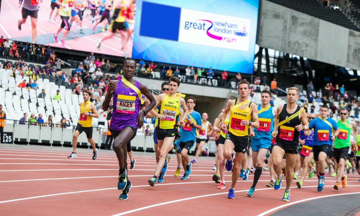 Running clubs target cash and Ethiopia trip prizes in Olympic Stadium challenge