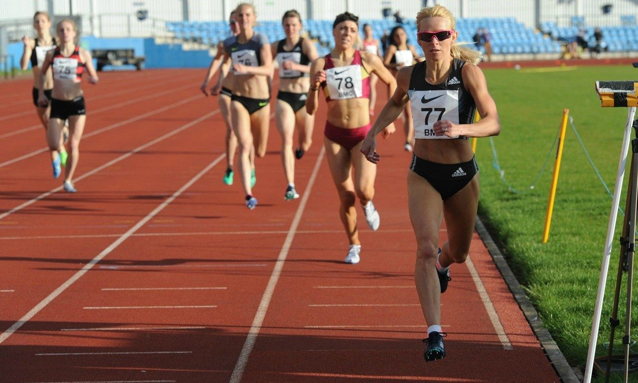 Jenny Meadows wins with Olympic qualifying time at BMC Grand Prix