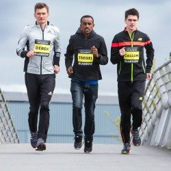 Hawkins brothers and Tsegai Tewelde set for Great Scottish Run