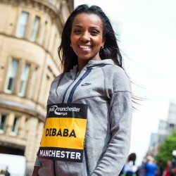 Tirunesh Dibaba's road to Rio starts in Manchester