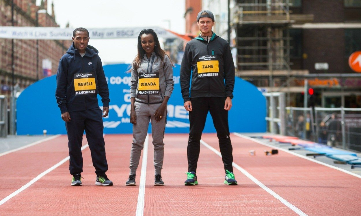 Zane Robertson looking to challenge Bekele and Kipsang in Manchester