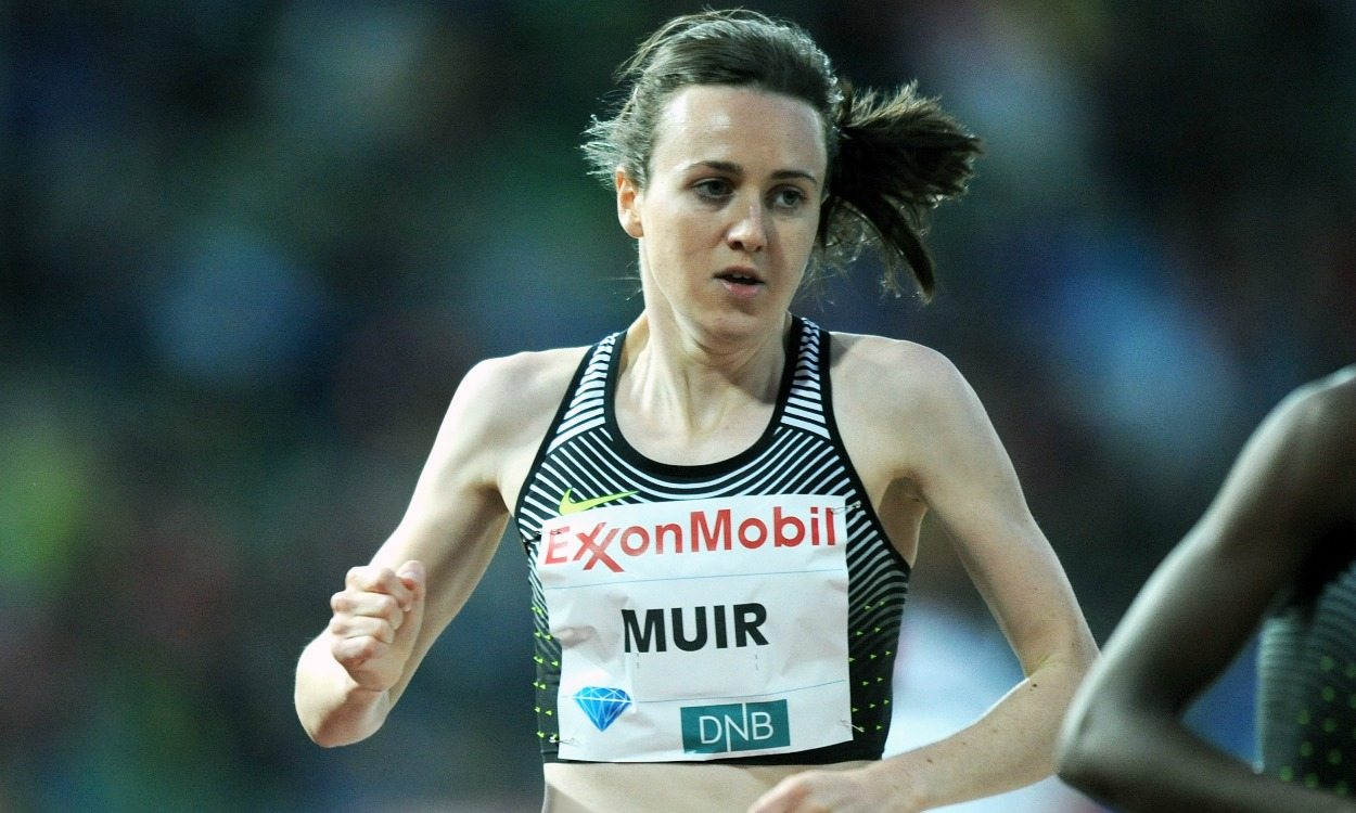 Interview with Laura Muir at Oslo Diamond League
