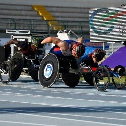 David Weir among gold medal winners on day two in Grosseto