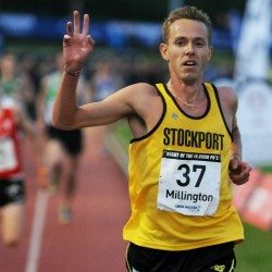 Ross Millington runs qualifying time to secure 10,000m spot for Rio