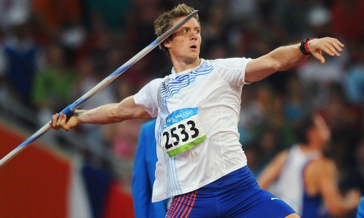 Olympic history: Men's javelin
