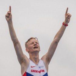 Callum Wilkinson walks to gold at World U20 Championships
