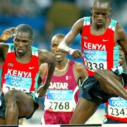 Olympic history: Men's 3000m steeplechase