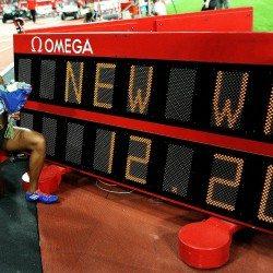 Kendra Harrison breaks world 100m hurdles record in London