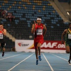 Michael Norman sets championship record in 200m at World U20 Champs