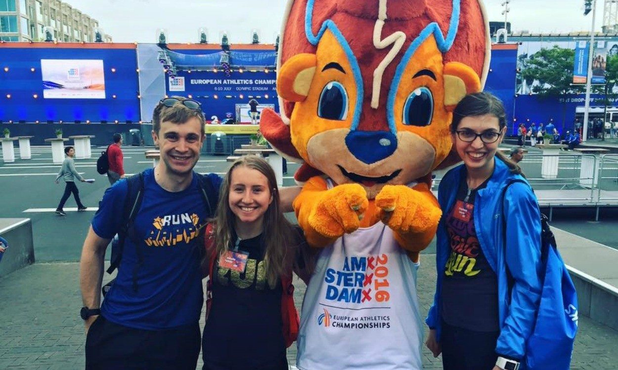 Brooks Super Fans report from European Championships