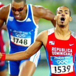 Olympic history: Men's 400m hurdles