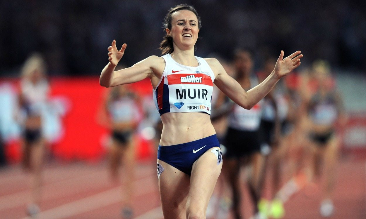 Laura Muir to target British mile record at Anniversary Games