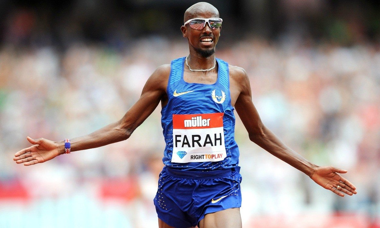 Athletics weekly mo farah to race müller anniversary games m