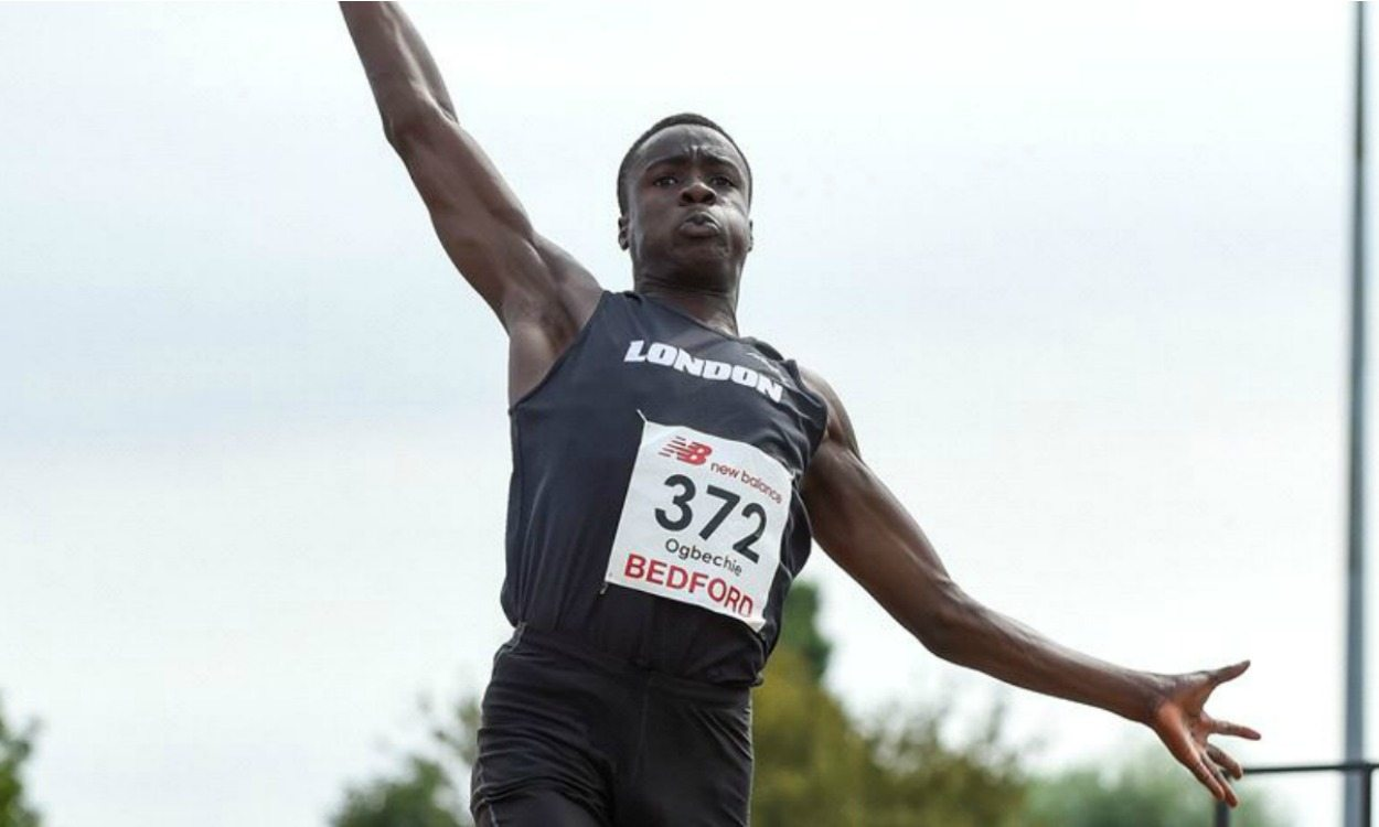 Dominic Ogbechie's two records highlight England age-group champs