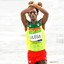 No Ethiopia return for Olympic marathon medallist Feyisa Lilesa