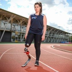 Sprinter Julie Rogers set for second Paralympic debut