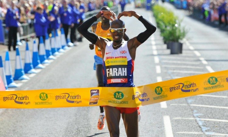 Mo Farah targets Great North Run hat-trick