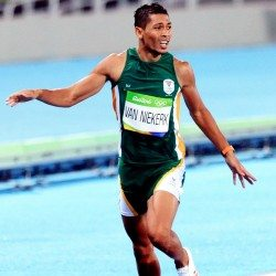 Jamie Baulch: Van Niekerk's record is better than Usain Bolt's