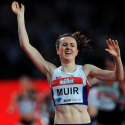Laura Muir smashes European 3000m record in Karlsruhe