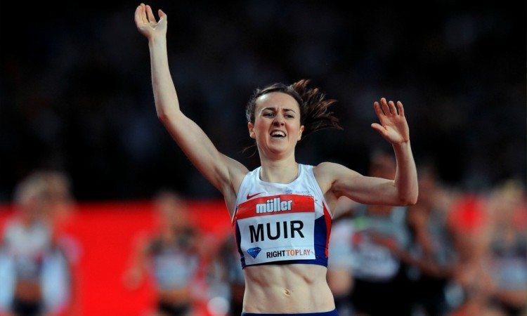 laura muir anniversary games british record london