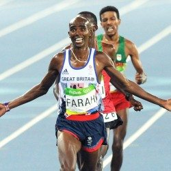 Mo Farah's 20 greatest track races