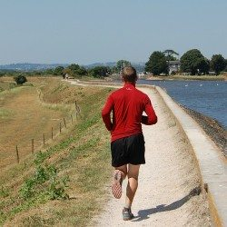 Running routes: Exe Estuary