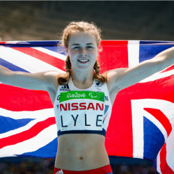 Maria Lyle bags third Paralympic medal as Sophie Kamlish smashes T44 100m world record
