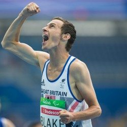 Paul Blake gains ParalympicsGB's 50th gold in Rio with 400m win