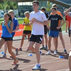 Future stars learn top tips at London Marathon Events Young Athletes Camp