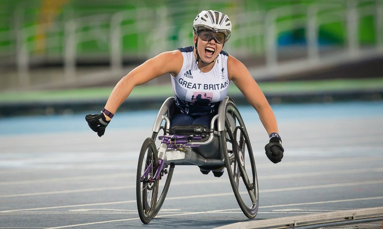 Gold No.3 for Hannah Cockroft in Rio