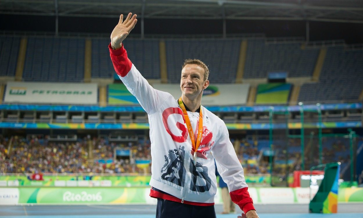 Richard Whitehead storms to 100m silver for second medal in Rio