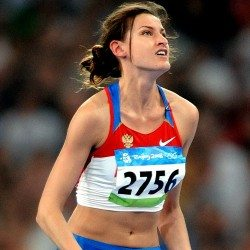 Anna Chicherova stripped of 2008 Olympic high jump bronze